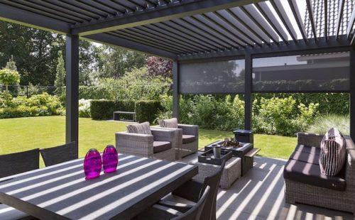 Pérgolas de aluminio para exteriores